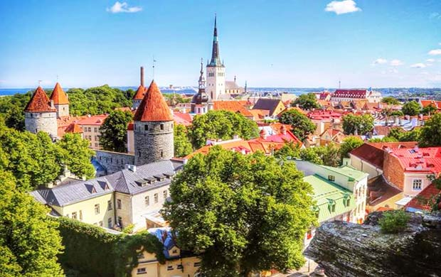 Выходные в городе. Таллин